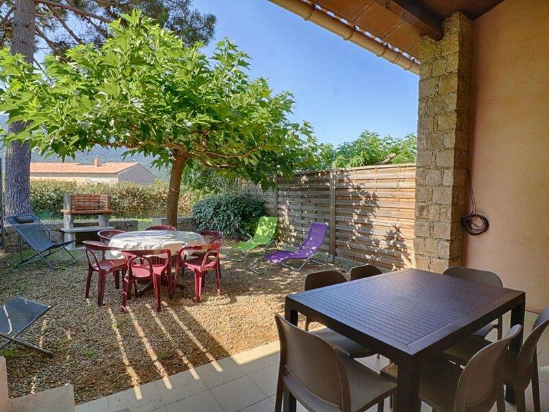 Masorchia - Appartement en  rez de jardin La Liscia 4, location de vacances à Tiuccia