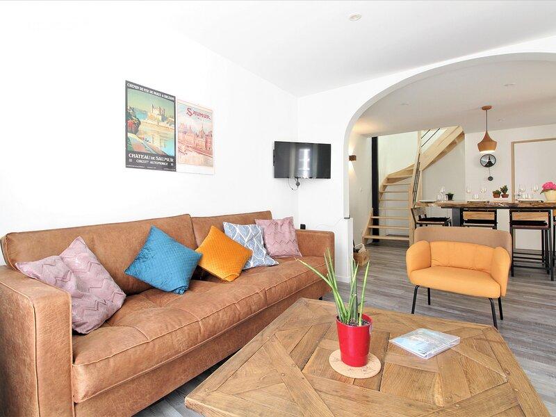 Chez Jeanne, holiday rental in Breze