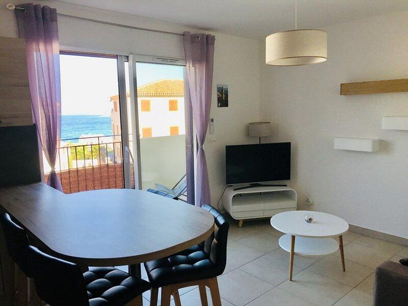 Algajola - Charmant appartement moderne  - F3 5 MARE, location de vacances à Lavatoggio