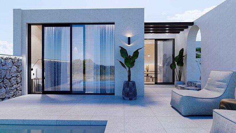 The Blanc luxury, casa vacanza a Stalis