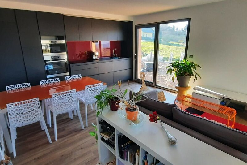 Nice apartment with mountain view, holiday rental in Labaroche