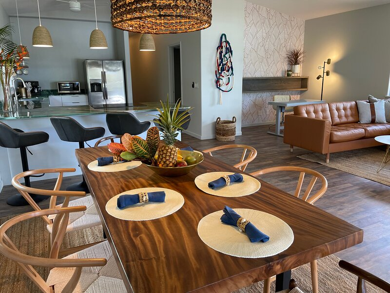 Work & Play across from Perfect North Shore Beach, alquiler vacacional en Sunset Beach