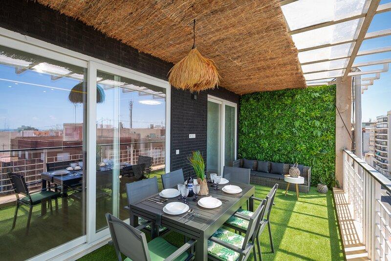 Fidalsa Penthouse Amazing View, location de vacances à Cocentaina
