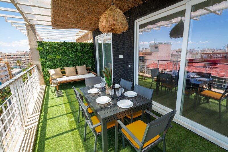 Fidalsa Penthouse Urban & Sea View, holiday rental in Agost