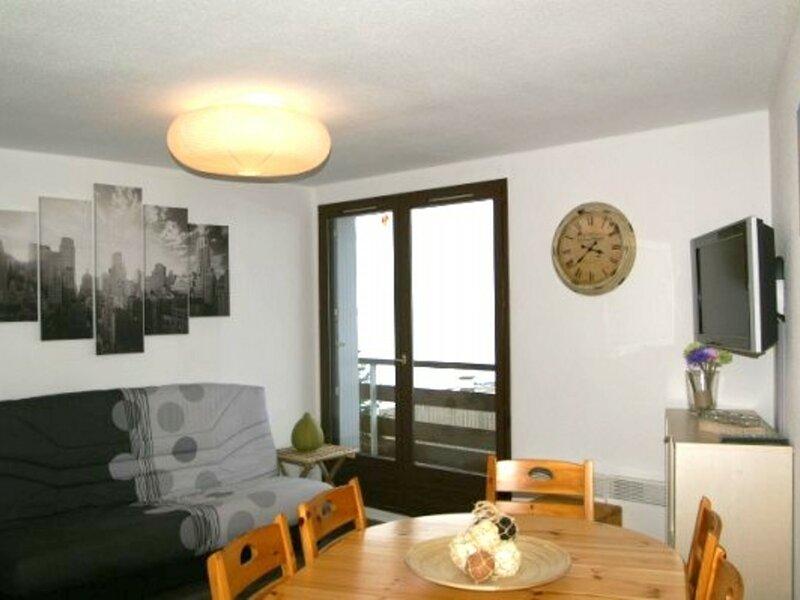 2 pièces cabine au pied des pistes résidence Cabris, holiday rental in Sainte-Agnes