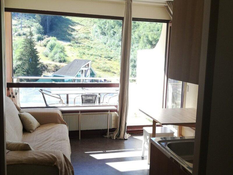 Studio cabine au pied des pistes résidence Cottepens, holiday rental in Les Adrets