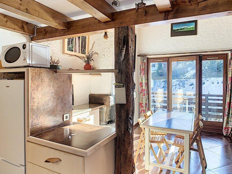 2 pièces mezzanine au pied des pistes de Combloux, holiday rental in Combloux