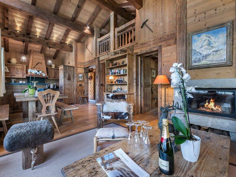 Le chalet est idéal pour un séjour en famille ou entre amis, holiday rental in Bozel