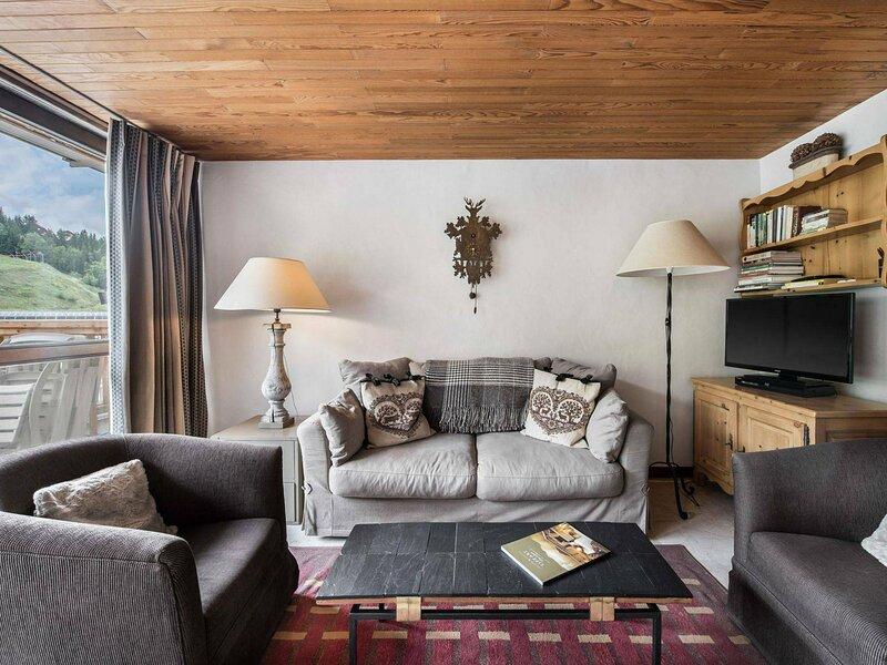 Lou Rei 408 : Séjour lumineux et confortable avec cuisine ouverte, holiday rental in Bozel