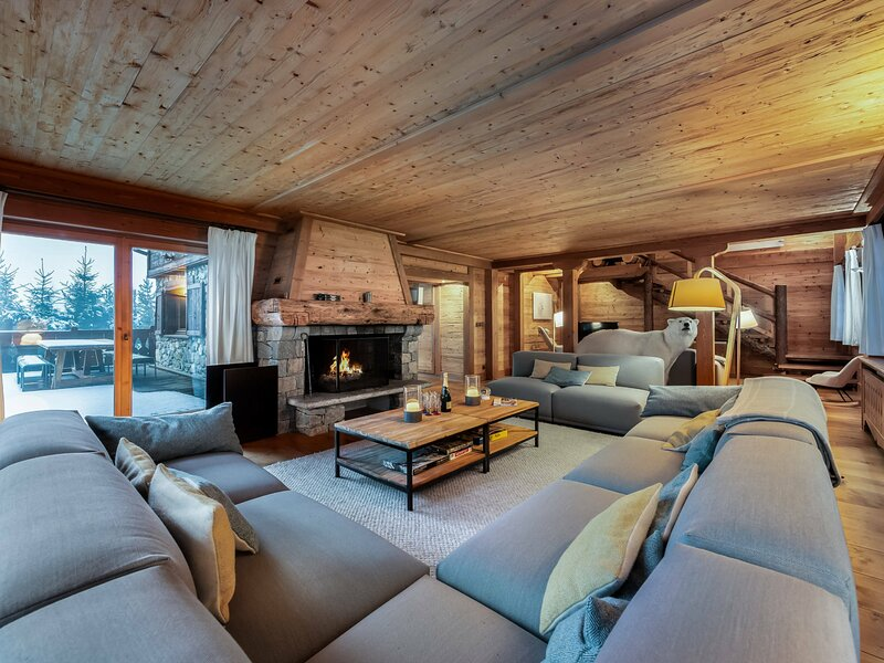 Chalet Adalta : Accès rapide aux Pistes - Sauna - Ménage quotidien, alquiler de vacaciones en Meribel