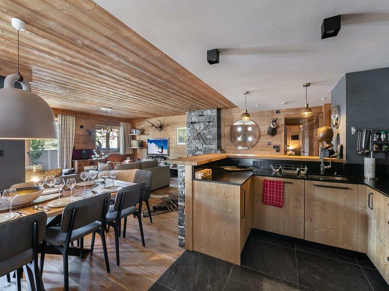 Myrtille 11 : Appartement contemporain ski aux pieds avec 4 chambres – semesterbostad i Val d'Isère