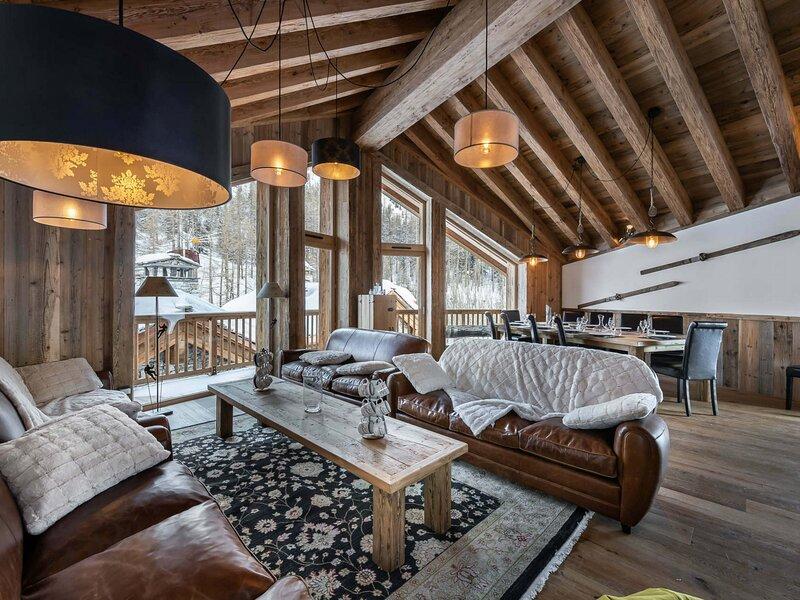 Magnifique chalet situé au Fornet, holiday rental in Val d'Isère