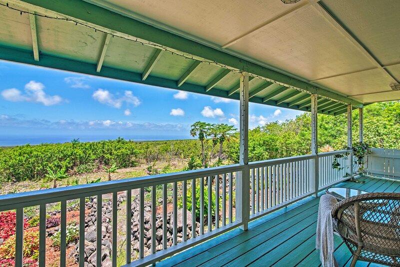 Private Porch | Ocean Views