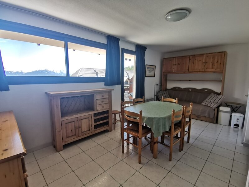Appartement T3 6 personnes vue vallée Chabrières 35 Réallon, alquiler de vacaciones en Reallon