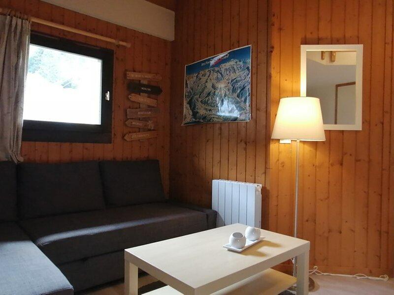 TER-CHRI-09 : 1 pièce duplex au centre de la station, alquiler de vacaciones en Saint Jean d'Aulps