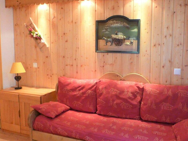 Studio cabine au pied des pistes, casa vacanza a Les Bruyeres