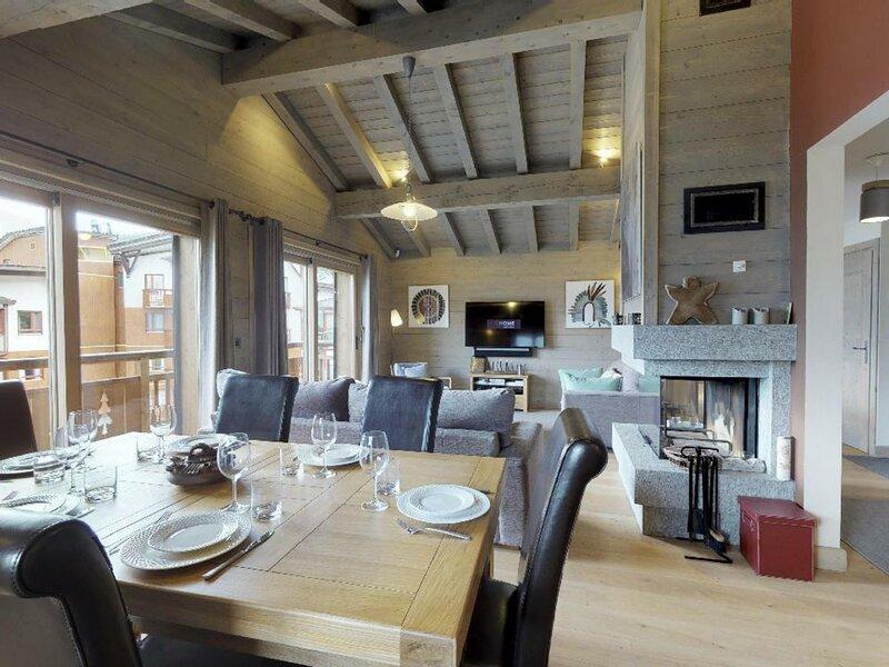 Bel appartement au coeur du village, holiday rental in La Perriere