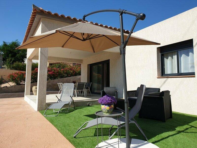 PORTICCIO- Spacieuse mini villa - V-ROTOLO, holiday rental in Eccica-Suarella