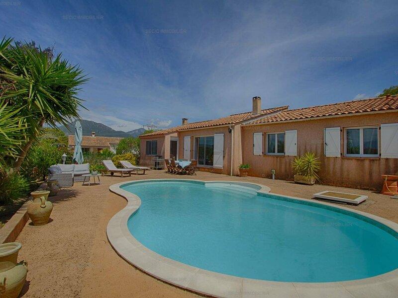 PORTICCIO- Très jolie villa avec piscine, holiday rental in Eccica-Suarella