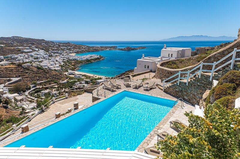 Villa Thelgo Mykonos House II, vacation rental in Platys Gialos