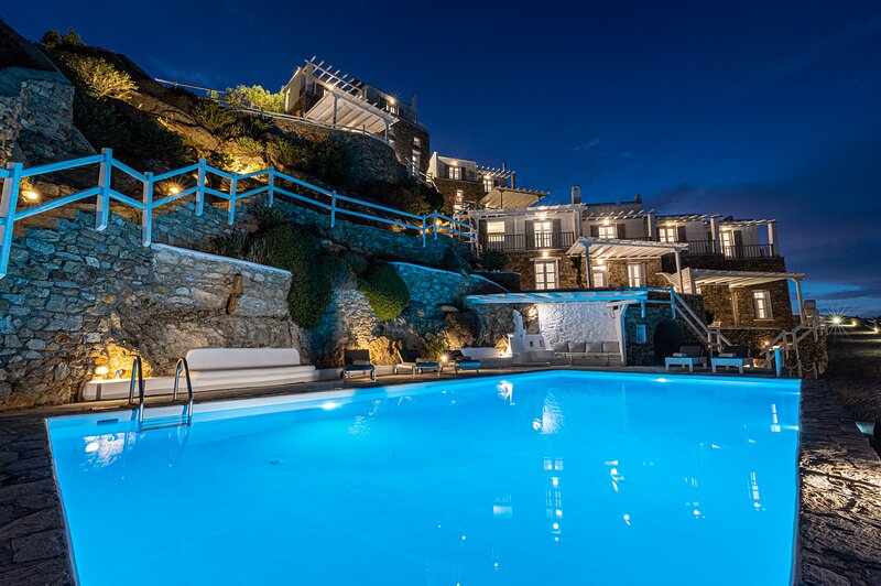 Villa Thelgo Mykonos House III, vacation rental in Platys Gialos