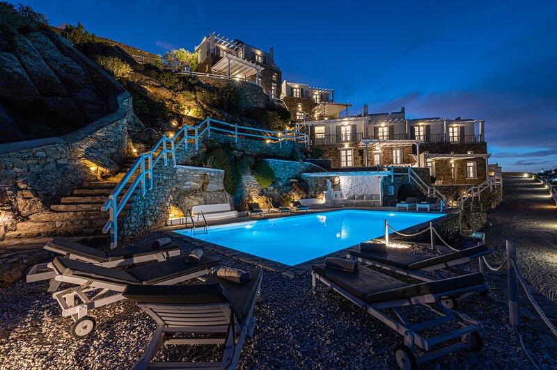 Villa Thelgo Mykonos House IV, vacation rental in Platys Gialos