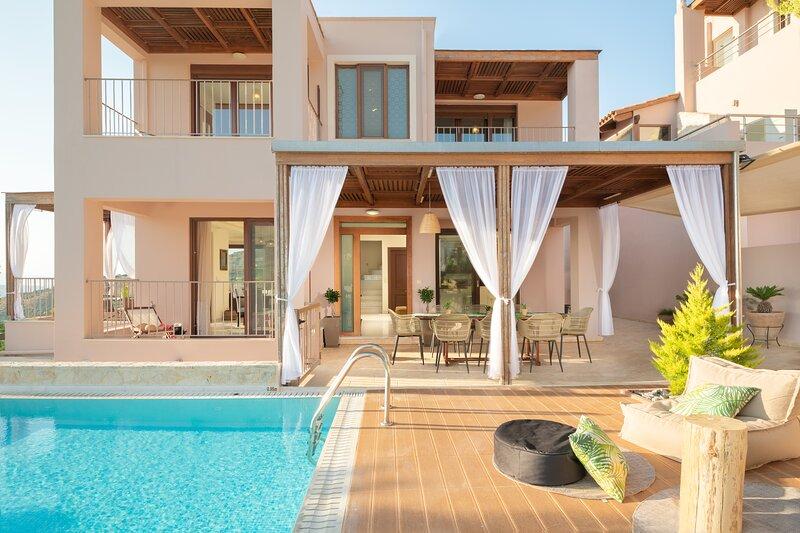 Rea Villa, a Serene Sanctuary, alquiler de vacaciones en Choudetsi