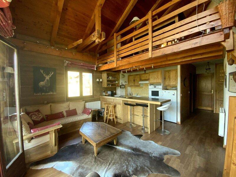 Location en famille 5 couchages. Montgenèvre., holiday rental in Val-des-Pres