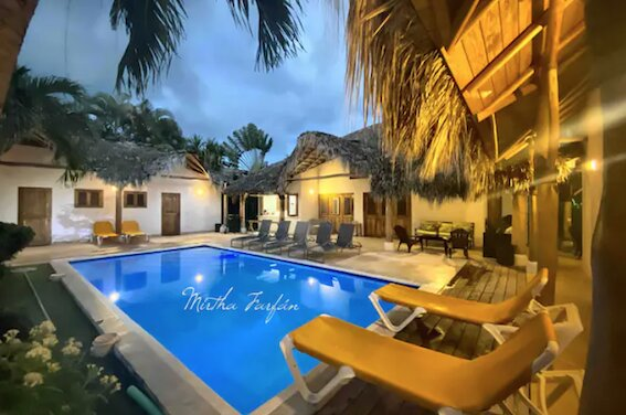 TROPICAL DREAM, for 16 pers at lovely Coson Beach, holiday rental in Nagua
