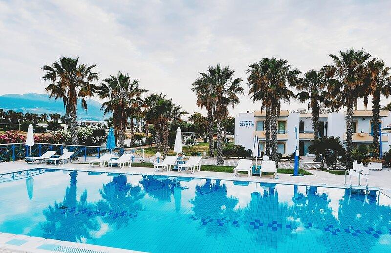 Kos Olympia Apartments at Lambi Beach, holiday rental in Kos Town