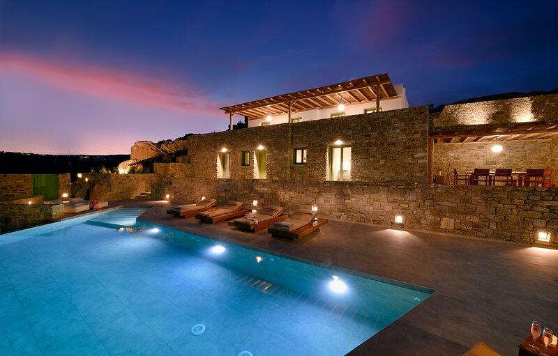 Mykonos, Villa Olympio with Private Pool, vacation rental in Mykonos Town