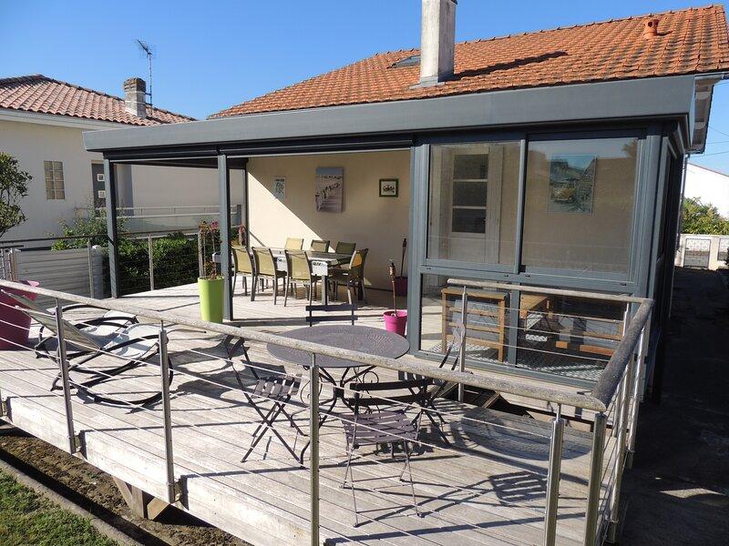 Villa 8 personnes 300m de la plage entre Royan et saint Palais sur mer, holiday rental in Royan