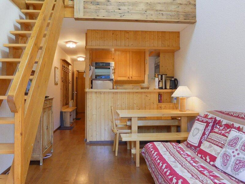 DUPLEX IDEAL POUR UNE FAMILLE, SUR LES PISTES, vacation rental in Meribel Mottaret