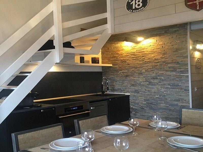 Bel appartement proche des pistes, holiday rental in Montvalezan
