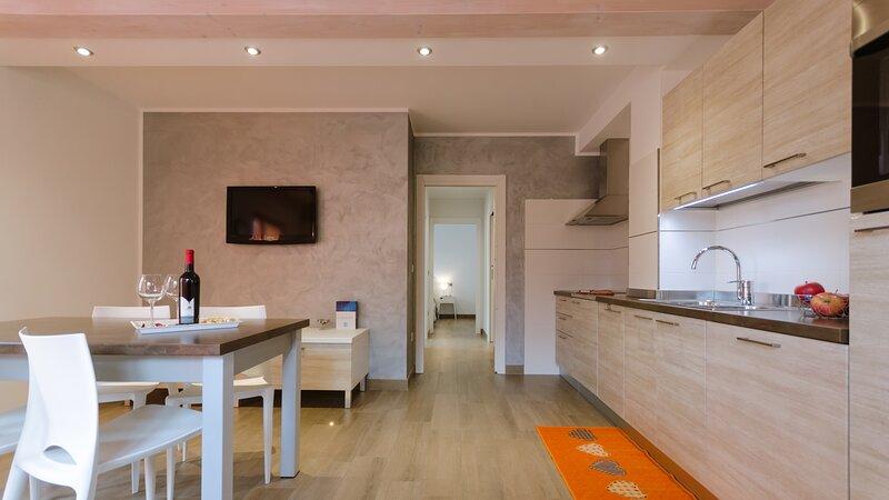 Casa Guetti Appartamenti Terme di Comano, location de vacances à Calavino