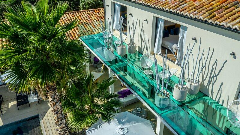 La villa de la Maison d'Ambrine - 5 étoiles, location de vacances à Valaurie