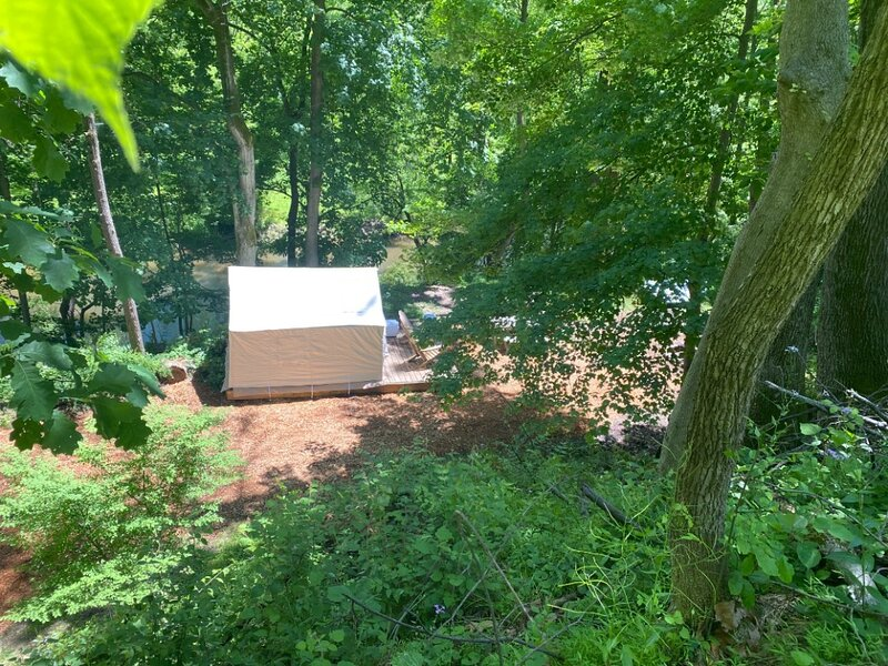 Tentrr Signature Site - Sycamore Hill Farm Creekside, holiday rental in Easton