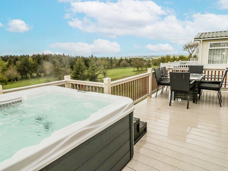 Woodland View Luxury Lodge, Felton, location de vacances à Newton on the Moor