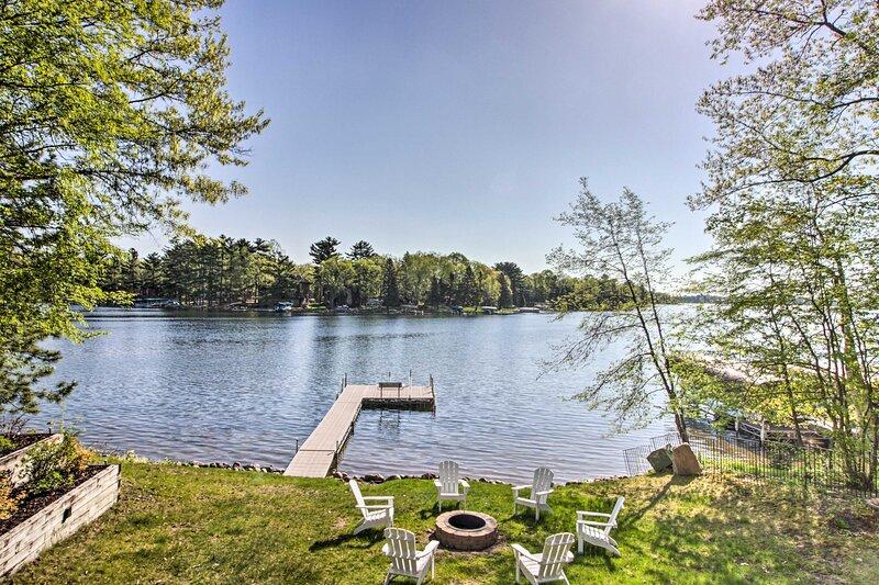 Waterfront Rush Lake Cabin w/ Private Dock!, location de vacances à Crosslake