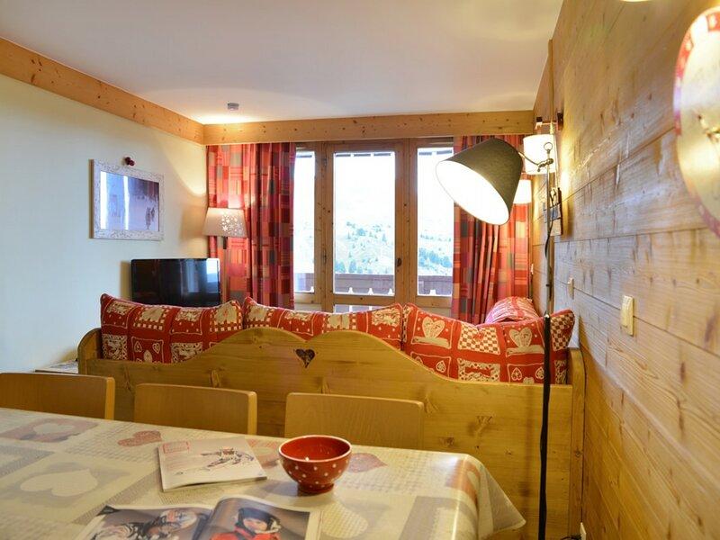 Appartement 3 pièces pour 7 personnes, au pied des pistes, holiday rental in Belle Plagne