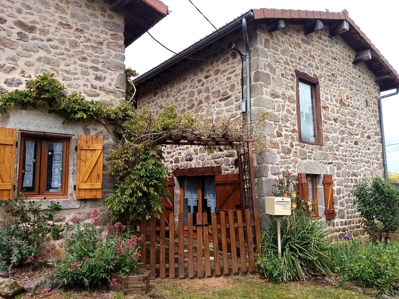 Beautiful house with terrace, holiday rental in Saint-Amant-Roche-Savine