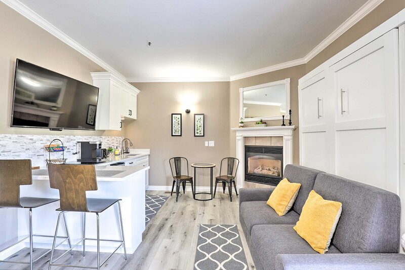 NEW! Peaceful Midway Studio with Mtn + Golf Views!, vacation rental in Midway
