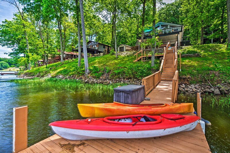 NEW! 'Robin's Nest': Cozy Cottage on Lake Malone, holiday rental in Russellville