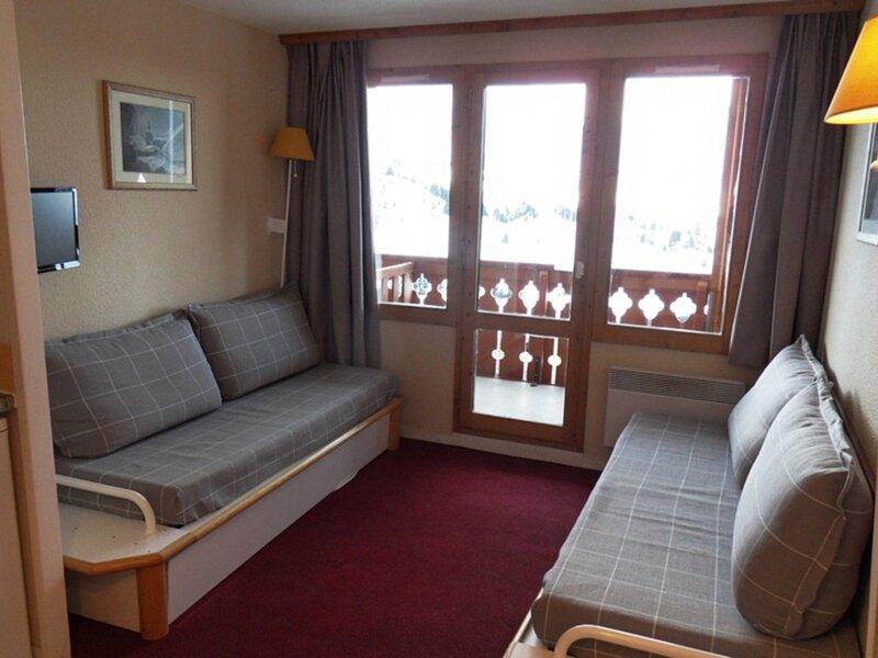 Très bel appartement au pied des pistes de 2 pièces pour  5 personnes de 27 m², holiday rental in Belle Plagne