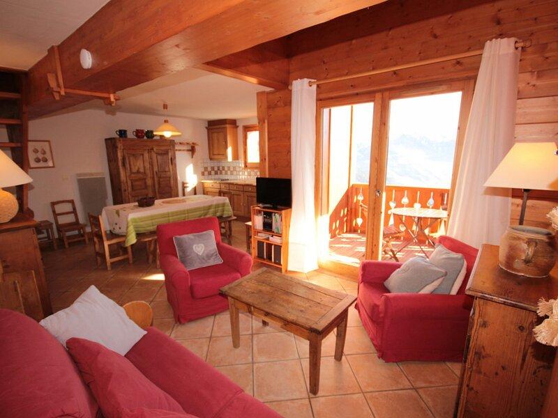 Magnifique 4 pièces mezzanine, location de vacances à Ugine