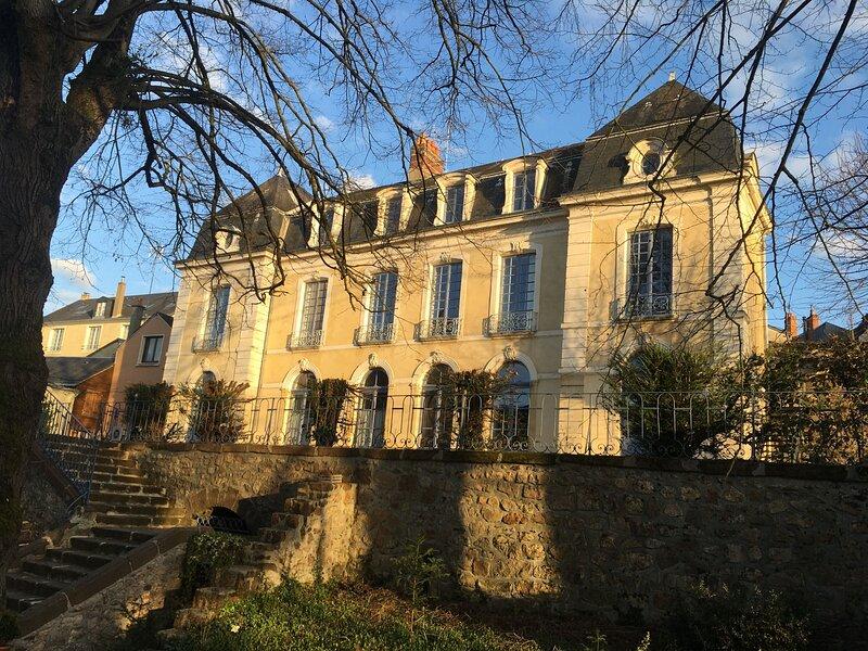 Demeure Jousset des Berries, holiday rental in Saint-Jean-d'Asse