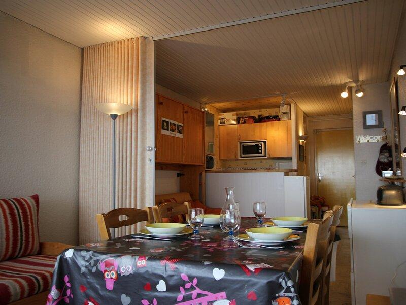 Studio 4 personnnes avec vue imprenable sur la vallèe, alquiler de vacaciones en Chamrousse