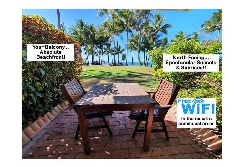 Dolphin Heads Beachfront Unit- Whitsunday Getaway!, holiday rental in Mackay