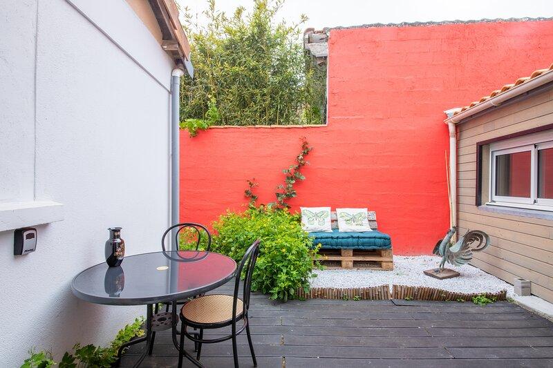 Les 5 Continents - Maison avec terrasse - 6 km de Nantes, vacation rental in Aigrefeuille-sur-Maine