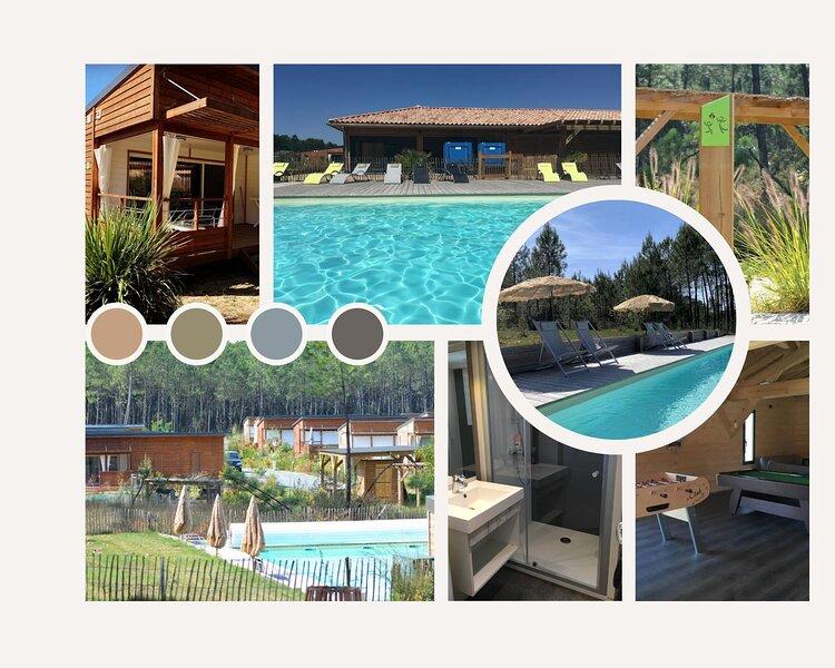 CHALET HAUT DE GAMME, holiday rental in Saubion